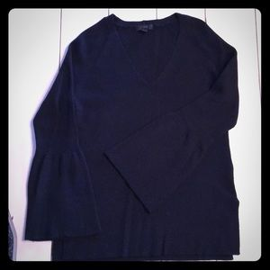 J Crew Bell Sleeve Sweater M